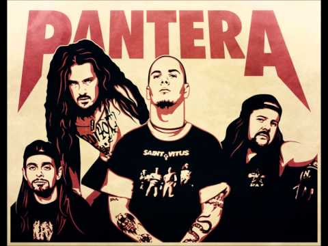 pantera - Cemetry Gates backing track