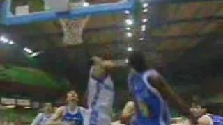Walter Berry ed Alex English al Napolibasket