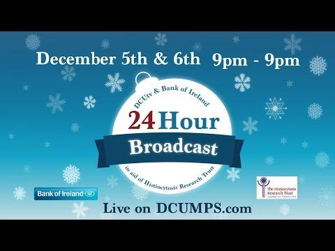 DCUtv & Bank Of Ireland 24 Hour Broadcast - Part 1