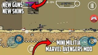 How To Download Mini Militia Marvel Avengers Mod For All Android Devices-2018