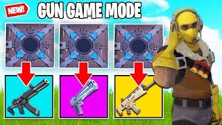 *NEW* ITEM SPAWNER  RANDOM GUN GAME - Fortnite Creative Minigame