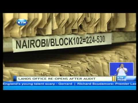 Land Audit successful as Ministry of Lands reopens offices