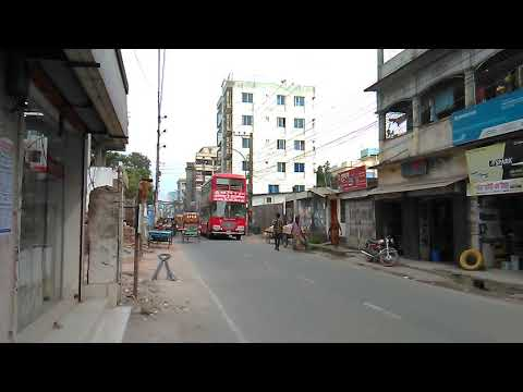 Maiden Run Of BRTC Double Decker Coach | Mymensingh To Muktagasa Town Service | 25-6-19