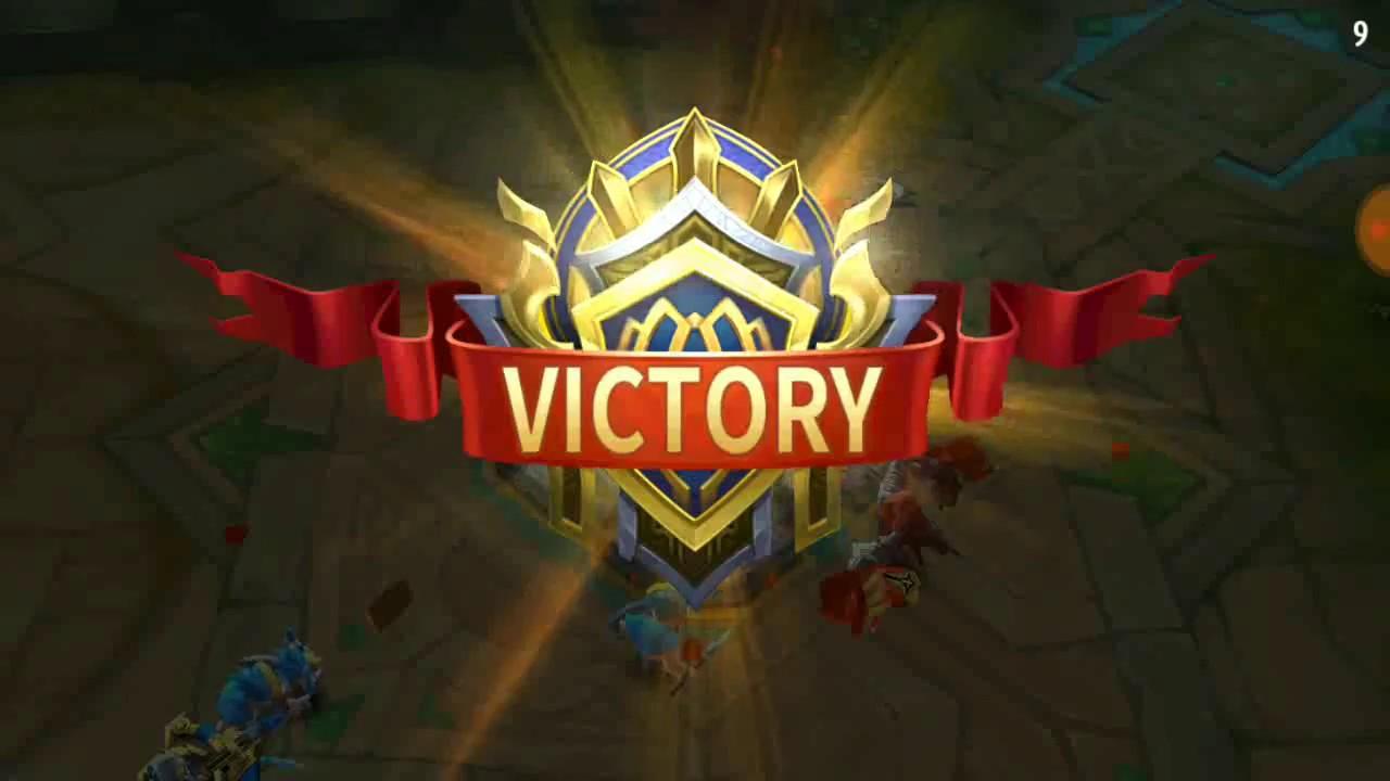 Mobile Legend Bang Bang Just Play 3 Victory Youtube