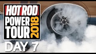 2018 Hot Rod Power Tour Day 7