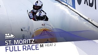 St. Moritz | BMW IBSF World Cup 2016/2017 - 2-Man Bobsleigh Heat 2 | IBSF Official