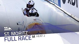 St. Moritz | BMW IBSF World Cup 2016/2017 - 2-Man Bobsleigh Heat 2 | IBSF Official