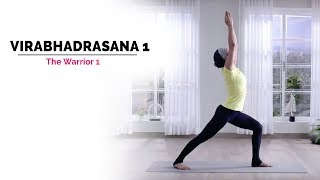 Virabhadrasana 1 | Warrior Pose 1 | Steps | Benefits | Yogic Fitness
