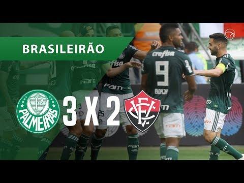 PALMEIRAS 3 X 2 VITÓRIA - GOLS - 02/12 - BRASILEIRÃO 2018