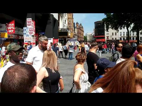Leicester Square Street Dancing 28/05/2017