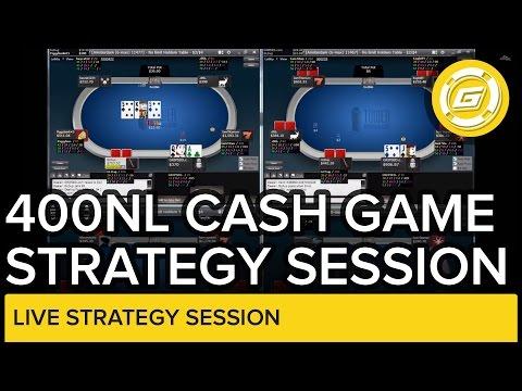 400NL Hold'em Cash Game Strategy | Live Poker Session