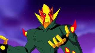 Ben 10 Omniverse : New Swampfire Transformation