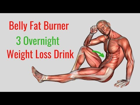 3 Overnight Weight Loss Drink – Belly Fat Burner