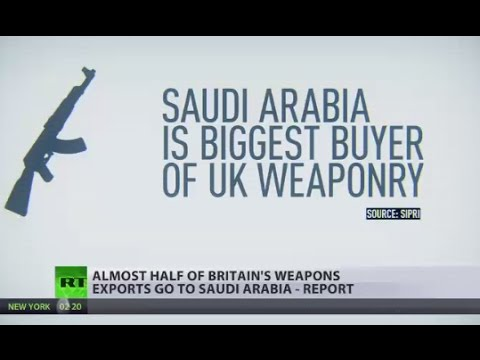 Almost half of Britain's weapons exports go to Saudi Arabia - report