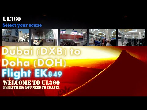 Emirates Dubai Airport T3 | Dubai Duty Free (DDF) | Stylish Business Class Lounge | A330-200 | EK849