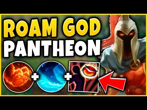 ABUSE THIS CHAMPION FOR FREE WINS! BEST GANKER IN LEAGUE?!? S9 PANTHEON GAMEPLAY - League of Legends