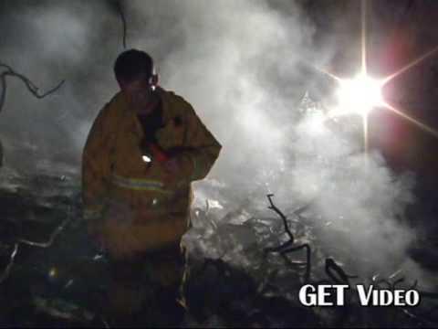 La Presa Middle School Fire In Spring Valley 08/04/09