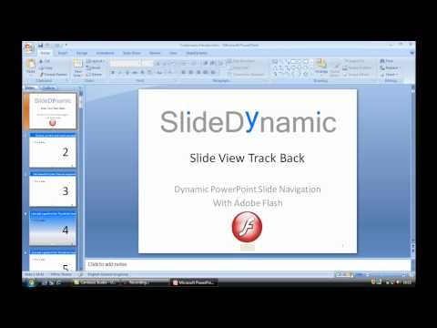 PowerPoint non-linear slide view history tracking Feature
