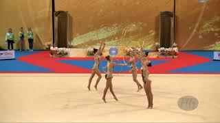 Slovenia (SLO) - 2018 Rhythmic Worlds, Sofia (BUL) - Qualifications 5 Hoops