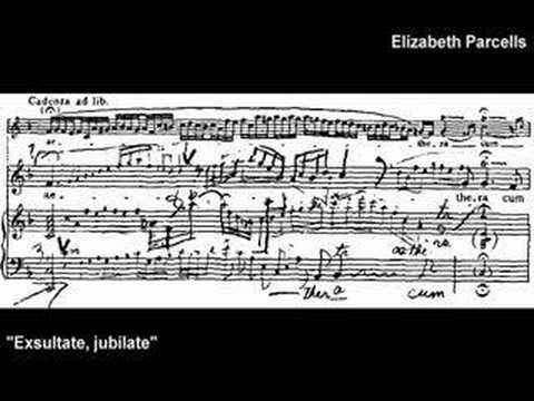 Mozart Motet Part 1--Elizabeth Parcells