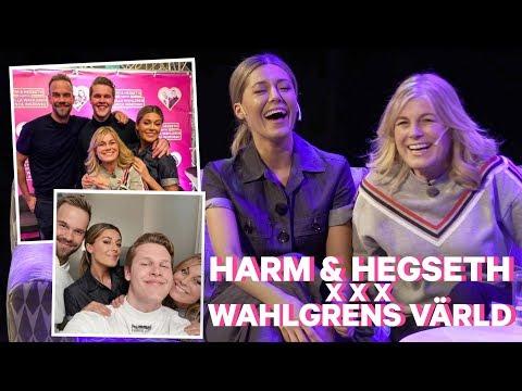 LIVESHOW: Harm og Hegseth X Wahlgrens Värld