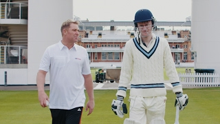 What is it like to face an over from Shane Warne? – video
