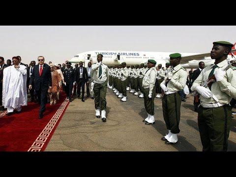 Visite du Premier Ministres Turc S E M  Recep Tayyip Erdoğan au Niger