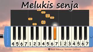 Download lagu Melukis Senja not pianika