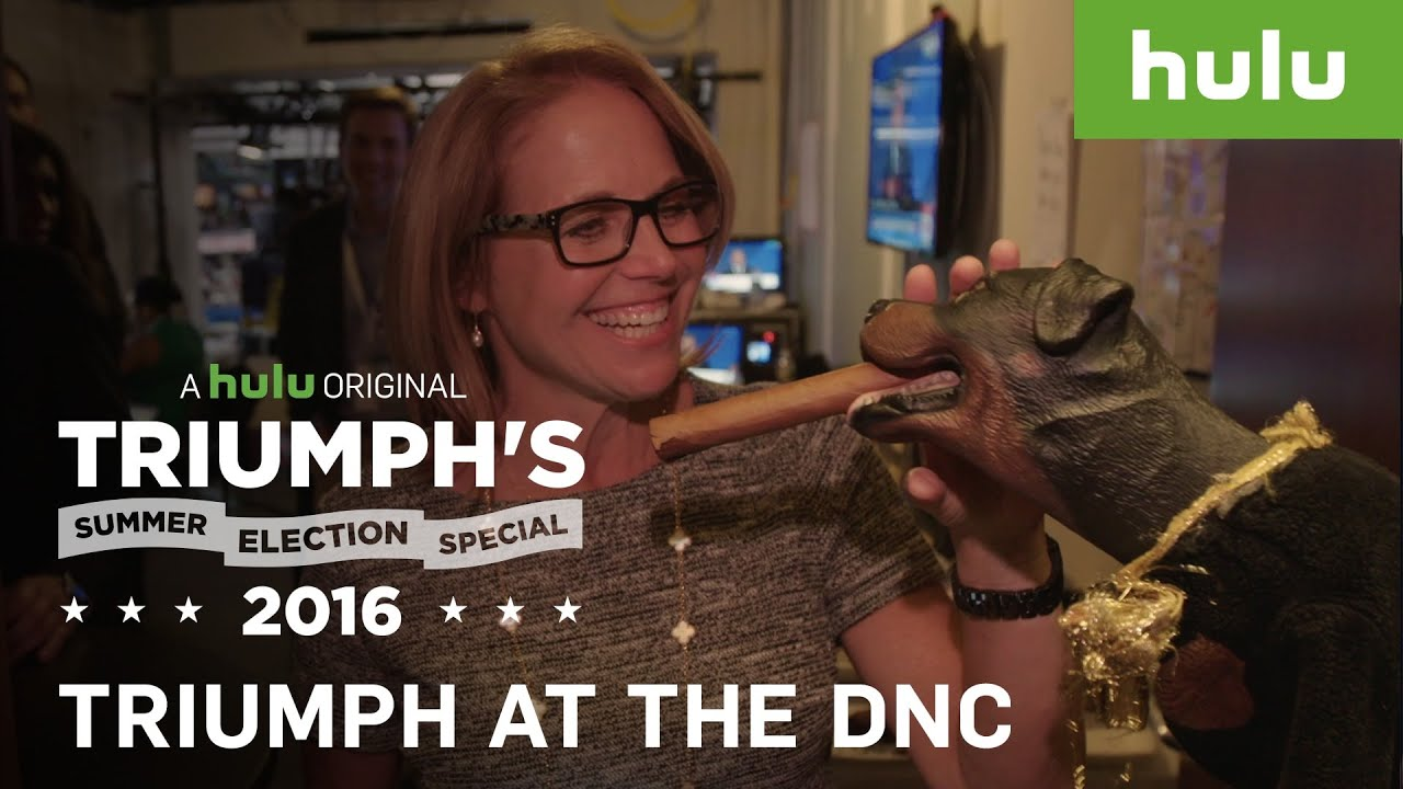 inside the dnc • triumph's summer election special 2016 - youtube