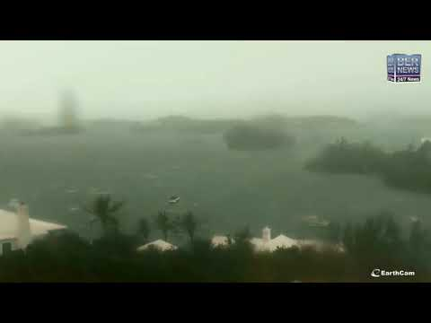 Live Video II: Hurricane Paulette hits Bermuda, stream courtesy of EarthCam