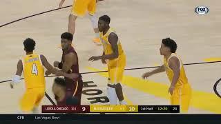 Loyola Chicago vs Milwaukee  NCAA Men's Basketball December 16, 2017