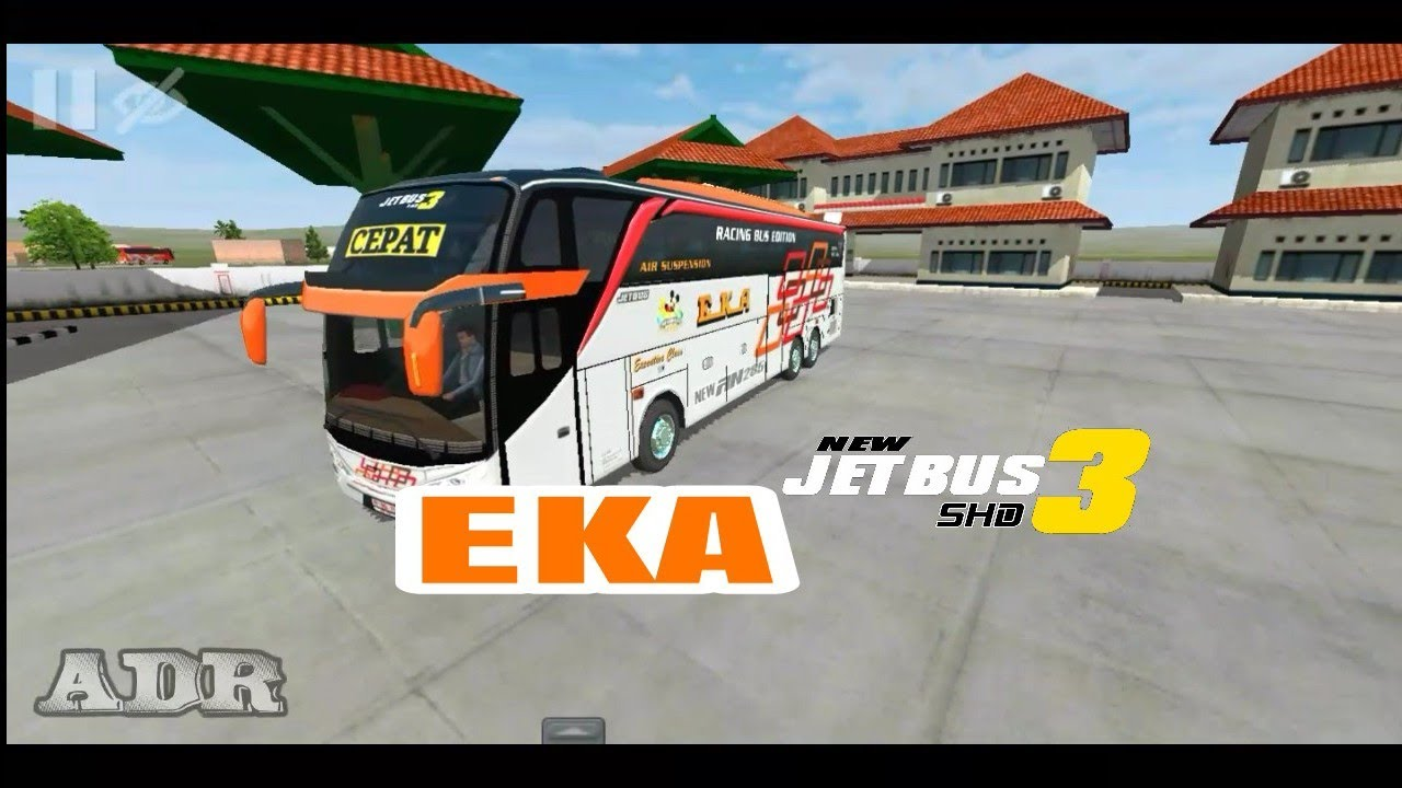 Bussid Eka Cepat Jetbus 3 Shd Bagibagiliverybussid