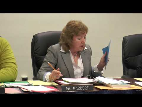 William Penn School District Board Business Meeting March 26, 2018