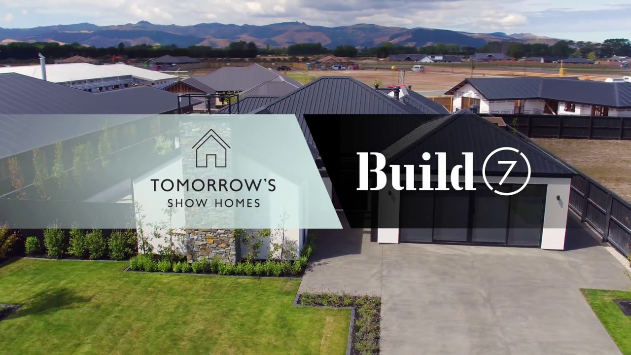 build 7 show home in lincoln christchurch new zealand youtube