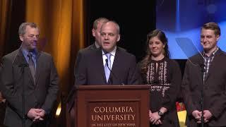 Jeremy Rogalski - 2018 duPont-Columbia Awards Acceptance Speech