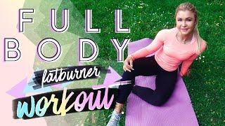 15min FATBURN Full Body Workout | Home Training zum mitmachen!