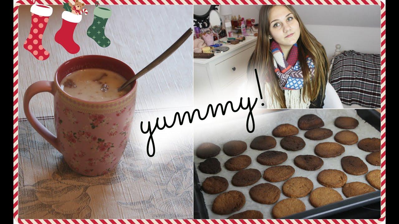 Weihnachtliche SNACKS! Kekse & Getränke! + VERLOSUNG - YouTube