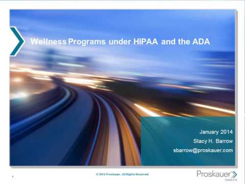 The Affordable Care Act, Incentive Programs and Their Impact on Corporate Wellness Strategies