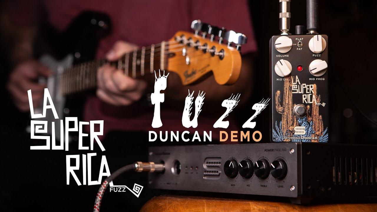 La Super Rica Pedal FUZZ | Duncan Demo