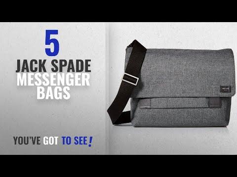 Top Jack Spade Messenger Bags [2018]: Jack Spade Men's Tech Oxford Field Messenger