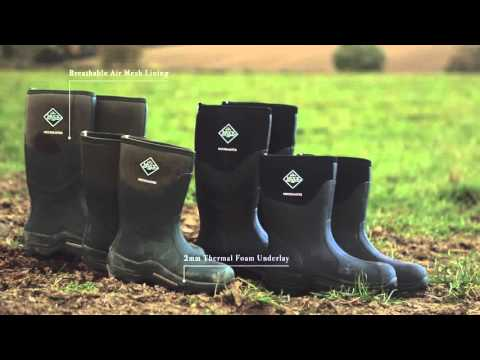The MuckMaster Boot | The Original Muck Boot Company - YouTube