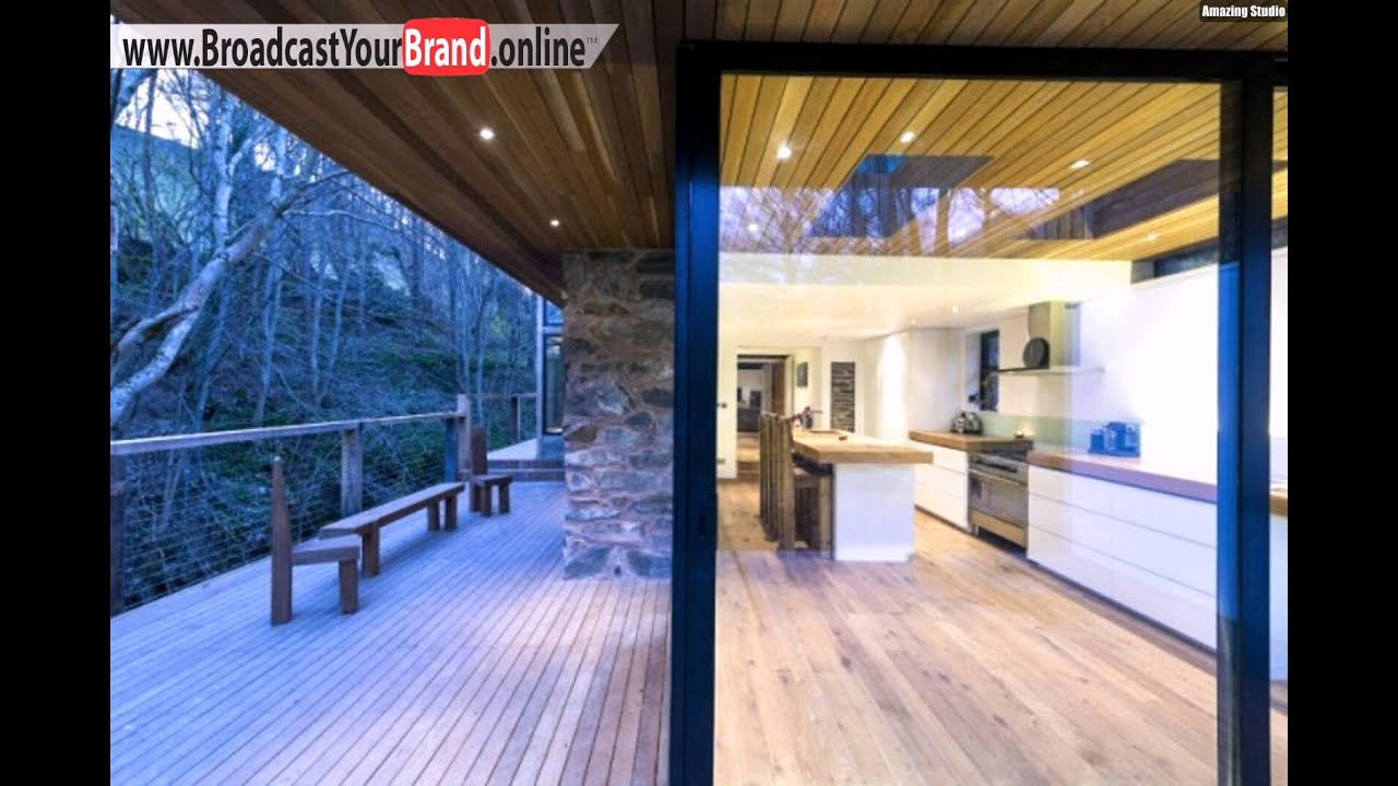 umbau m hle haus terrasse k che glas schiebet ren youtube. Black Bedroom Furniture Sets. Home Design Ideas