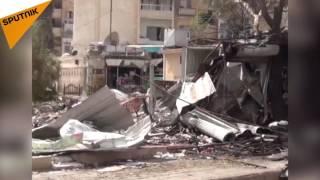 بالفيديو: حي الحمدانية في حلب يتحول إلى خط تماس ناري