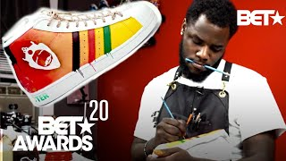 BET & Burger King Presents Out the Box: Sneaker King w/ World Reknown Sneaker Artist, Sierato