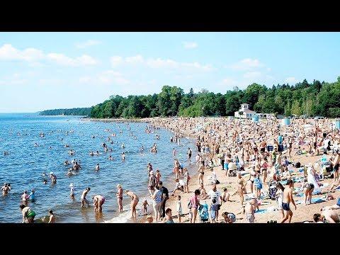 【Виды Питера】✨День города Зеленогорск・🌳ЗПКиО・🌅Золотой пляж・🌊Финский Залив「Санкт-Петербург🌼Лето 2019」