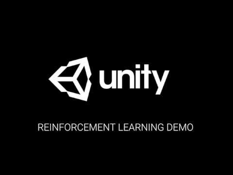 Unity Machine Learning - Reinforcement Learning Demo