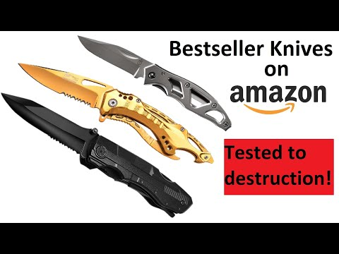 Amazon's Top 3 Knives: Most Brutal Review Ever!