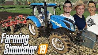 """Farming Simulator 19 MP """"od Zera do Farmera""""#20㋡ Prace pożniwne i sprzedaż drzewa!  ✔ MafiaSolecTeam"""