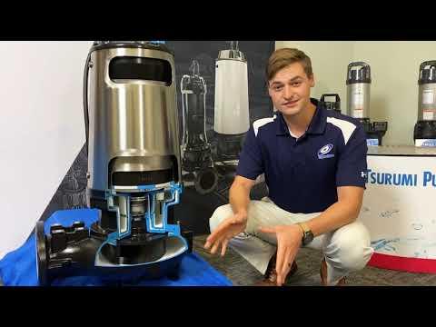 Tsurumi Virtual WEFTEC Booth: Wastewater Pumps