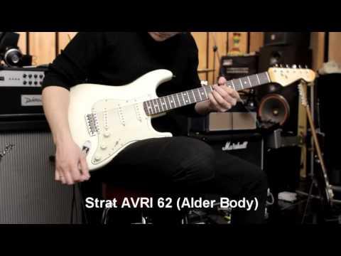 Fender Stratocaster: Deluxe Vs Standard Vs AVRI62